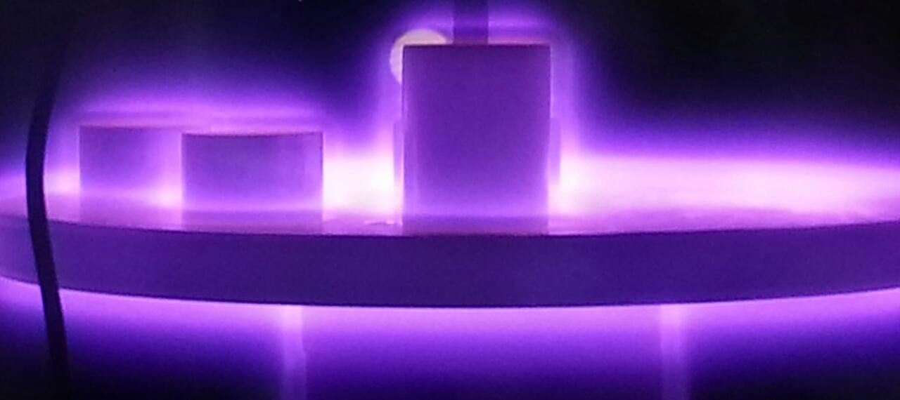Glow discharge plasma